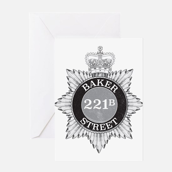 Baker Street Regulars Greeting Cards