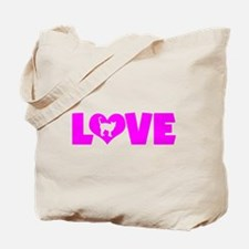 LOVE CAT Tote Bag