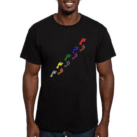 Journeys Men's Fitted T-Shirt (dark)
