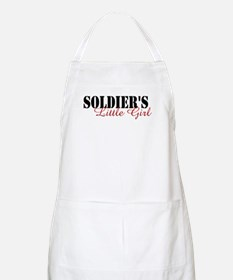 Soldier's Little Girl BBQ Apron