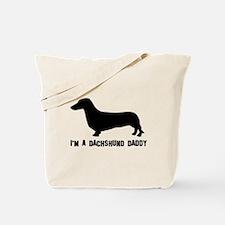 i'm a dachshund daddy Tote Bag