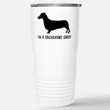 i'm a dachshund daddy Travel Mug
