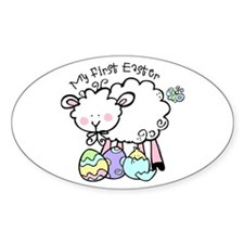 Little Lamb 1st Easter Decal