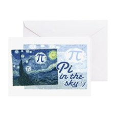Pi in the Sky Greeting Card
