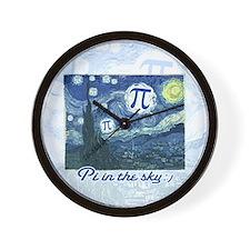 Pi in the Sky Wall Clock