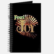 Find Joy sunset Journal