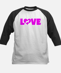LOVE GERMAN SHEPHERD Kids Baseball Jersey
