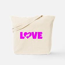 LOVE GERMAN SHEPHERD Tote Bag