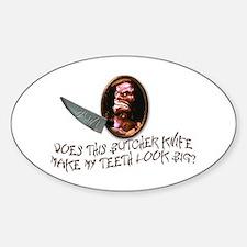 Trilogy of Terror! Sticker (Oval)
