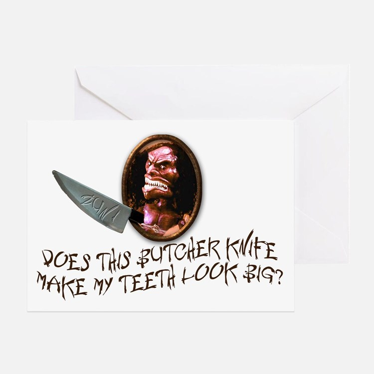 Trilogy of Terror! Greeting Card