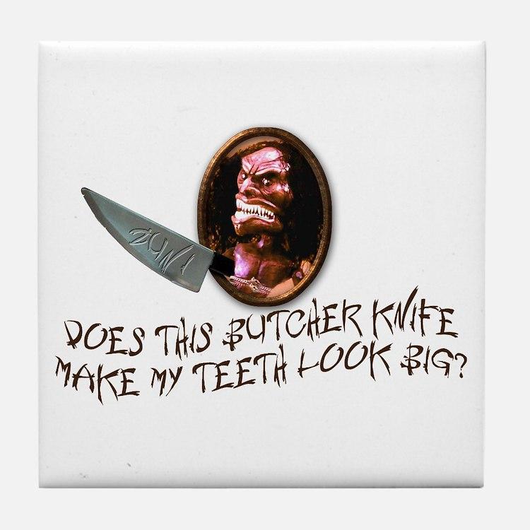 Trilogy of Terror! Tile Coaster