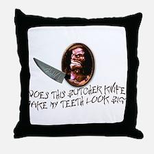 Trilogy of Terror! Throw Pillow