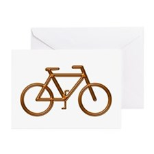 """Copper Bike"" Greeting Cards (Pk of 10)"