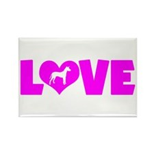 LOVE XOLO Rectangle Magnet