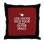 Los Locos Throw Pillow
