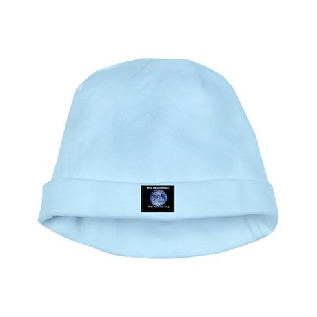 Beautiful Earth baby hat