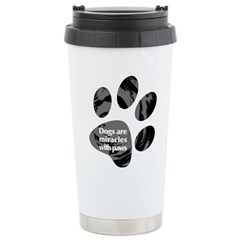 Dogs Are Miracles With Paws Travel Mug