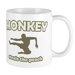 Monkey Steals The Peach Mug