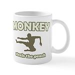 Monkey Steals The Peach Mug