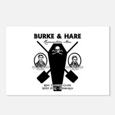 Burke & Hare Postcards (Package of 8)