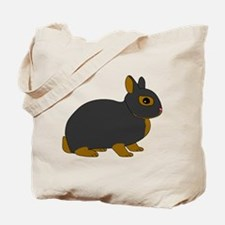 Netherland Dwarf Rabbit Tote Bag