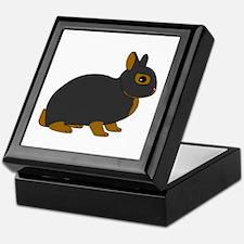 Netherland Dwarf Rabbit Keepsake Box
