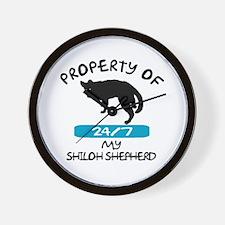 Shiloh Shepherd Wall Clock