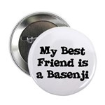 My Best Friend is a Basenji Button