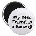 My Best Friend is a Basenji Magnet