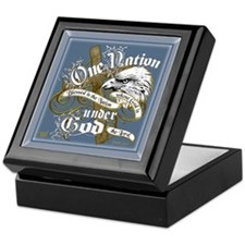 One Nation - Blessed Keepsake Box