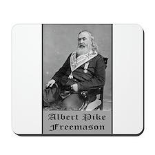 Albert Pike Freemason Mousepad