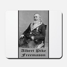 Albert Pike Freemason Mousepad