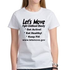 Let's Move Fight Childhood Obesity Tee
