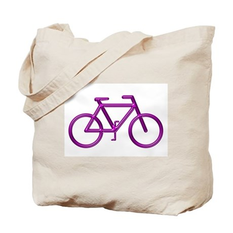 """Purple Bike"" Tote Bag"