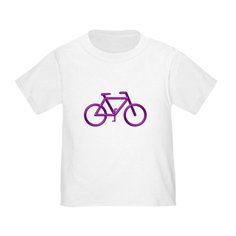 """Purple Bike"" Toddler T-Shirt"
