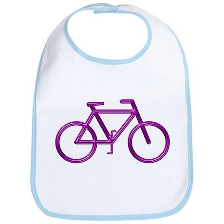 """Purple Bike"" Bib"