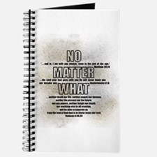 No Matter What Journal