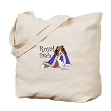 Royal Bitch Sheltie Tote Bag