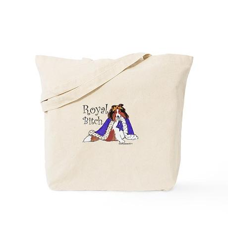 Royal Bitch Sheltie Tote Bag