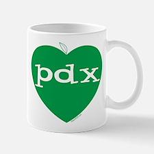 Cute I heart pdx Mug