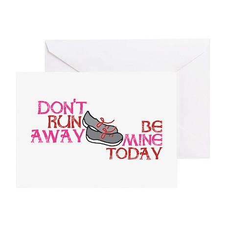 Runner Love Greeting Card