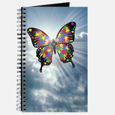 Autism Butterfly Sky Journal