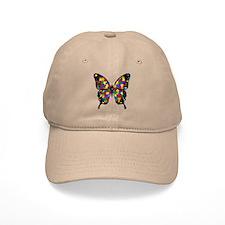 Autism Butterfly Baseball Cap