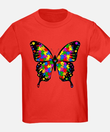 Autism Butterfly T
