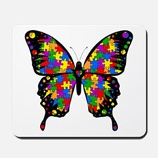 Autism Butterfly Mousepad