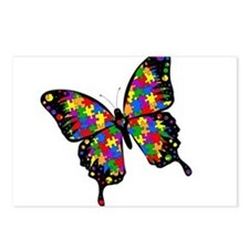 Autism Butterfly Postcards (Package of 8)