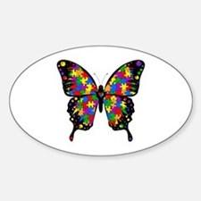 Autism Butterfly Bumper Stickers
