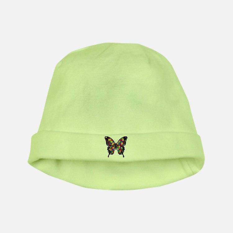 Autism Butterfly Infant Cap