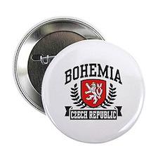 """Bohemia Czech Republic 2.25"""" Button"""
