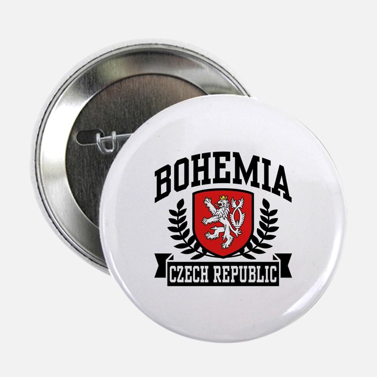 "Bohemia Czech Republic 2.25"" Button"